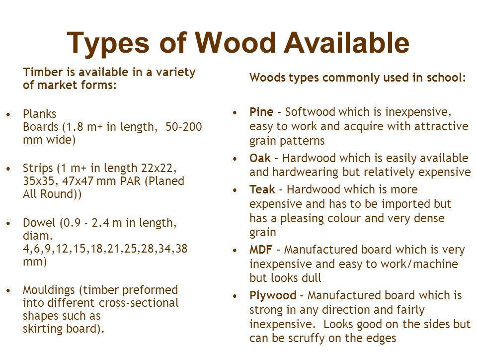 Timber Wood Types Properties Joints And Finishes Ppt