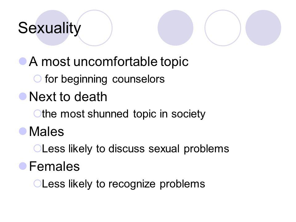 Sexual identity problems