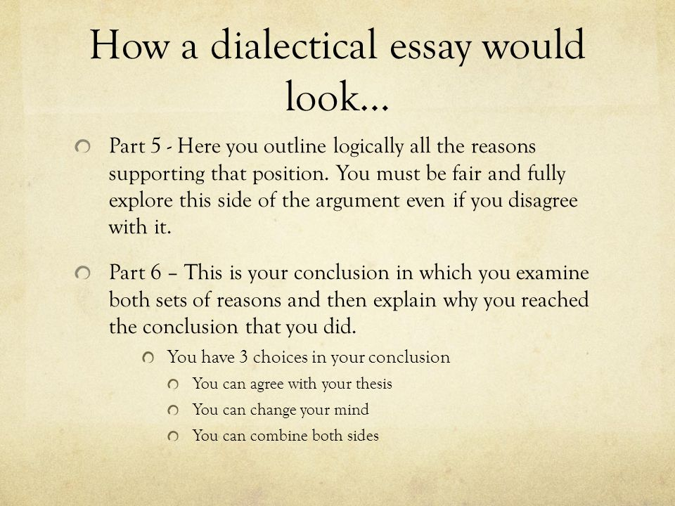Dialectical Essay  Hepatitze Writing A Dialectical Essay Social   Unit  Project Ppt Download Diwali Essay In English also A Thesis For An Essay Should Proposal Essay Template