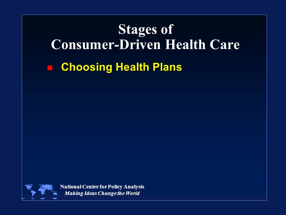 stages of policy making in healthcare