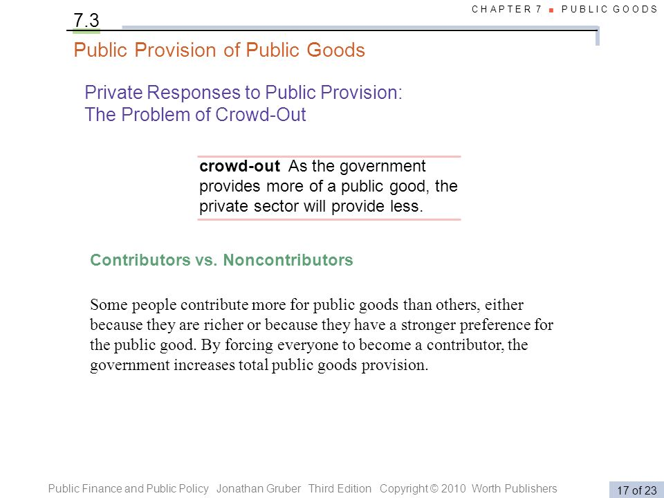 Public Finance and Public Policy Jonathan Gruber Third