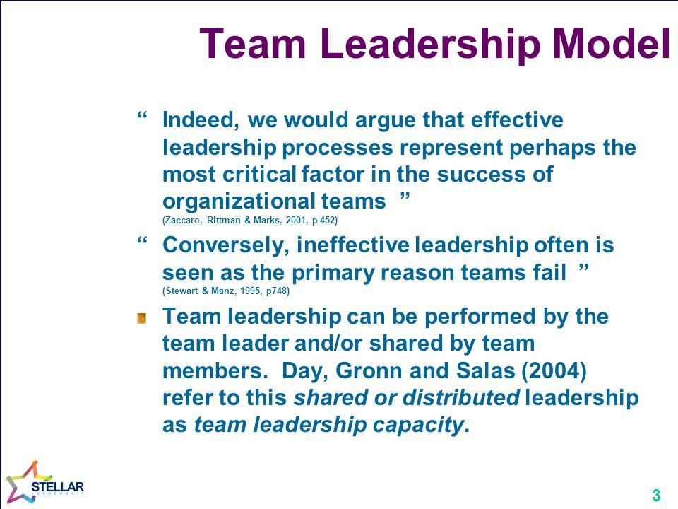 zaccaro leadership