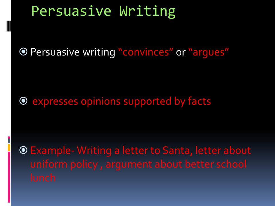 What Are The 4 Types Modes Of Writing Expository Also Called Informational Persuasive Also Called Argumentative Narrative Descriptive Ppt Download