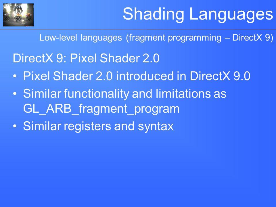 directx 9 pixel shader 3.0 download