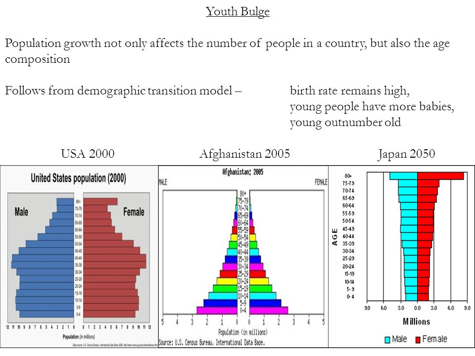 afghanistan demographic transition