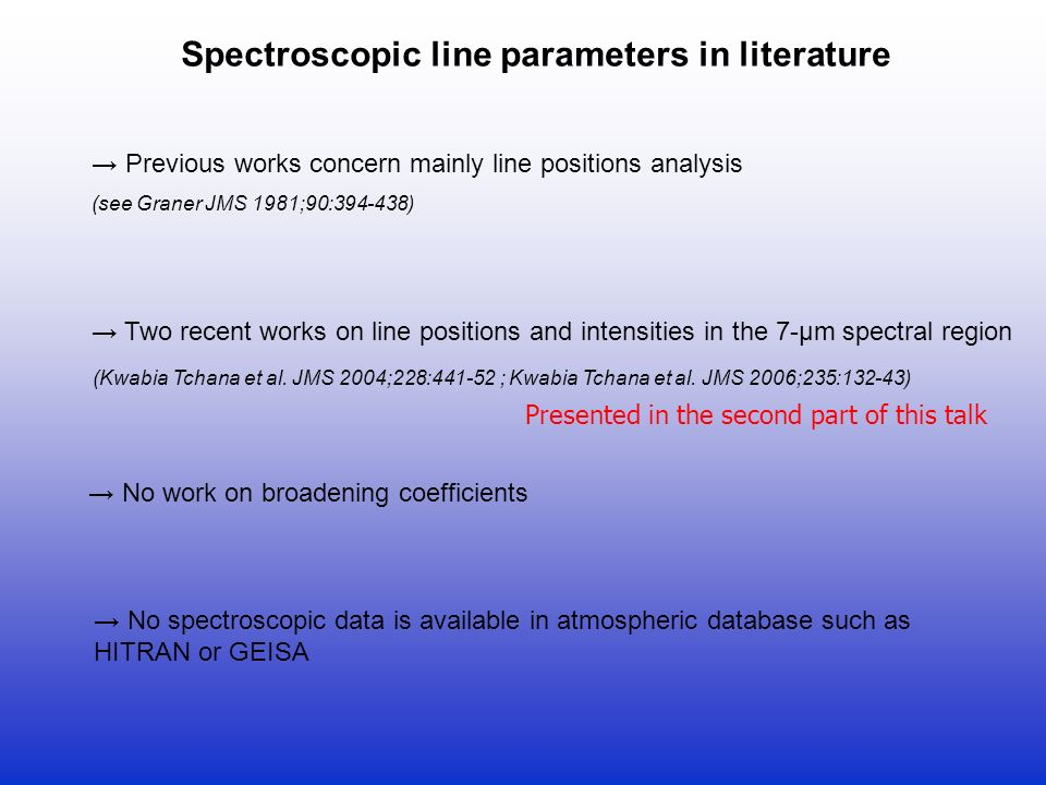 Methyl Bromide : Spectroscopic line parameters in the 7- and