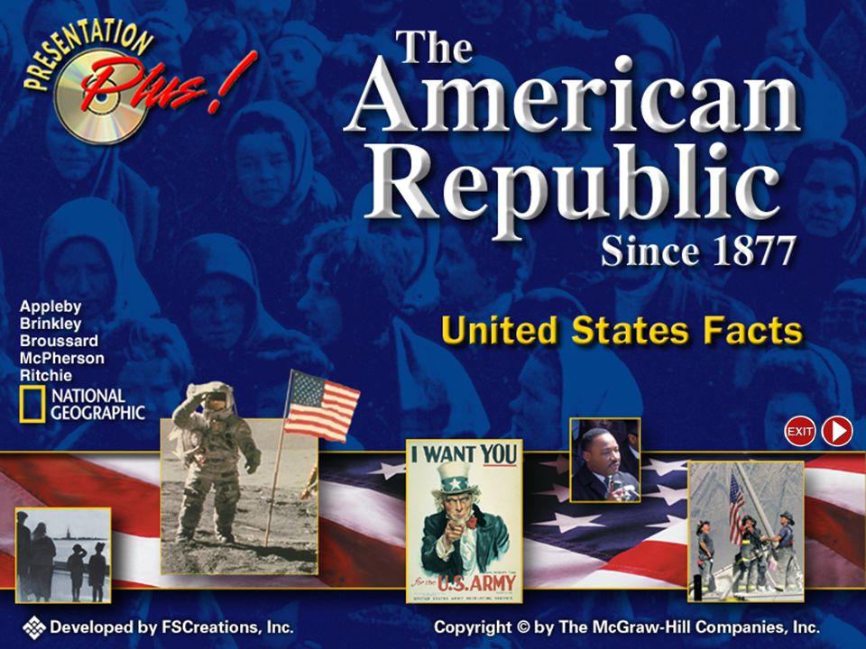 Presentation Plus The American Republic Since 1877
