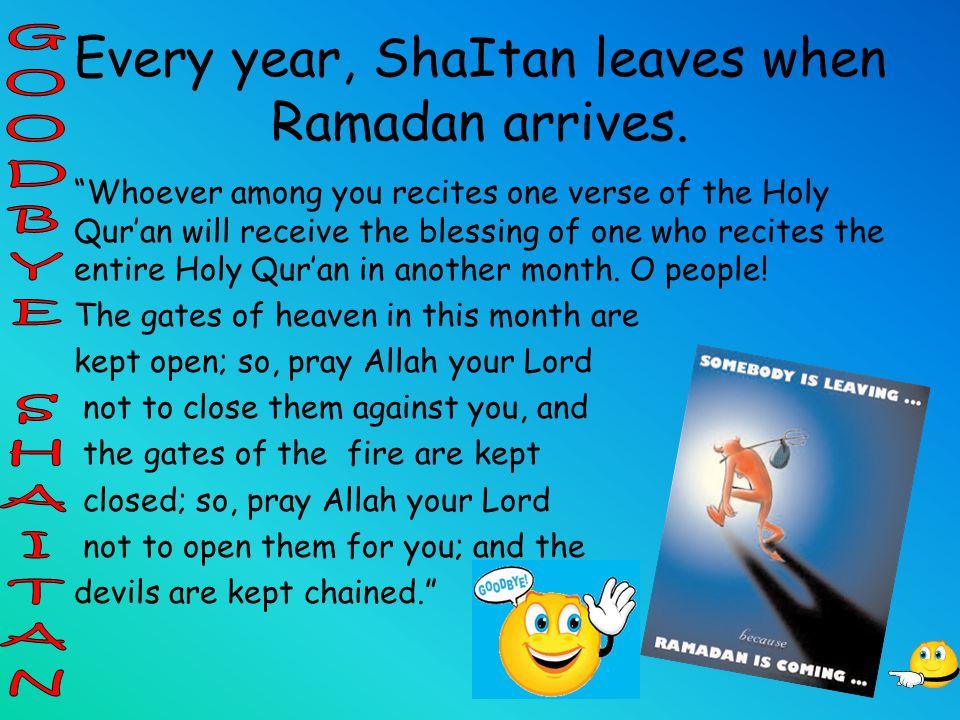 Ramadan Is The Ninth Month Of Islamic Calendar