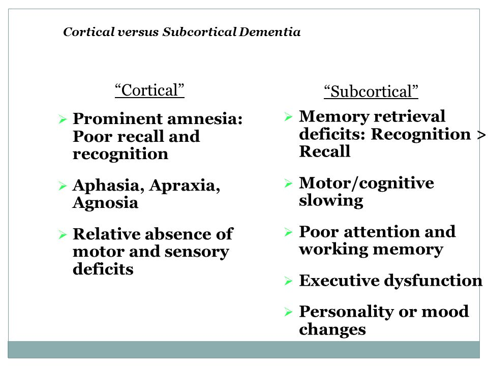 Memory Attention Dysexecutive Symptoms Multiple Sclerosis