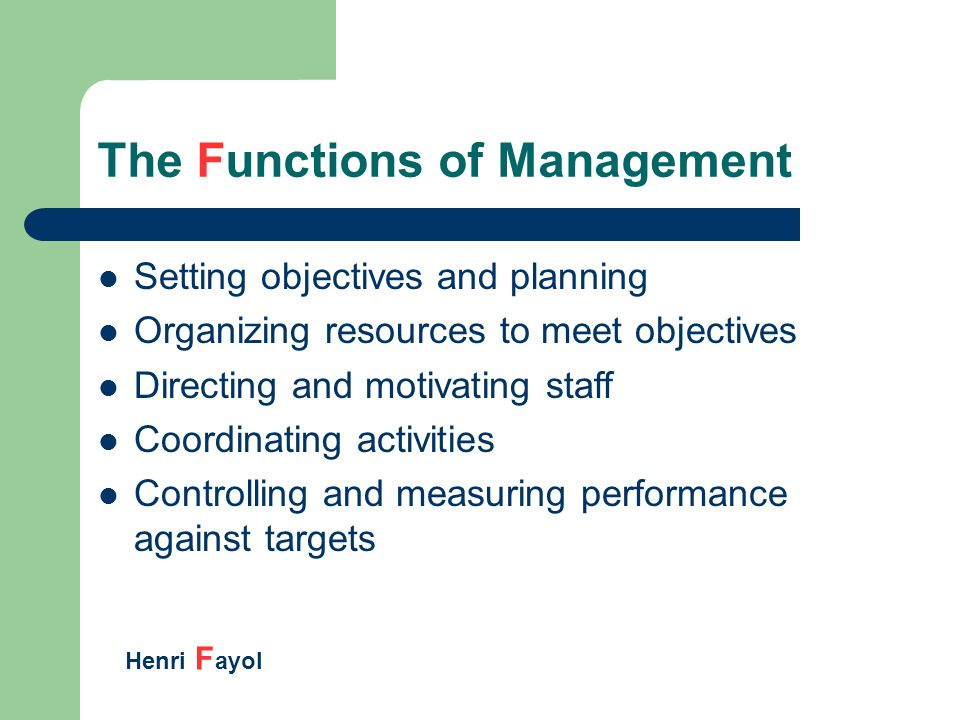 motivate staff to achieve objectives