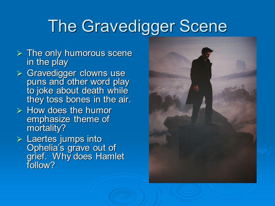 grave digger scene in hamlet significance