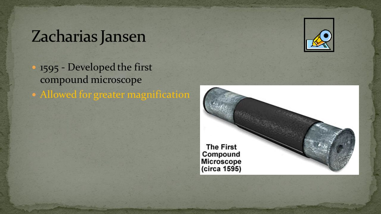 first compound microscope