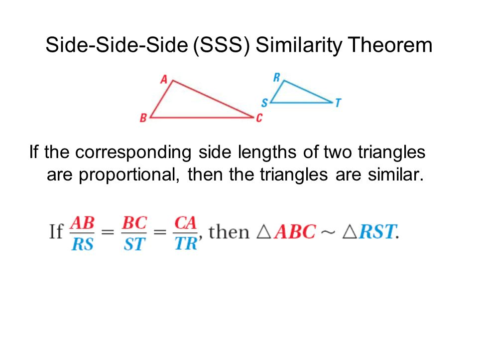 65 Prove Triangles Similar By Sss And Sas Geometry Ms Rinaldi