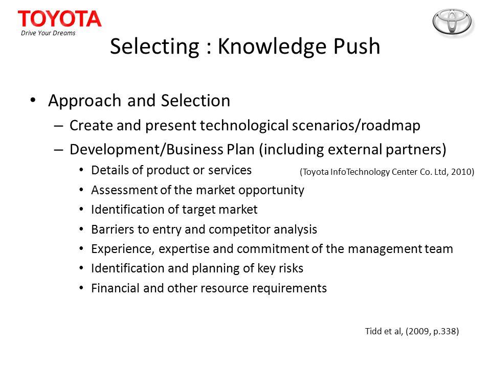 toyota business plan