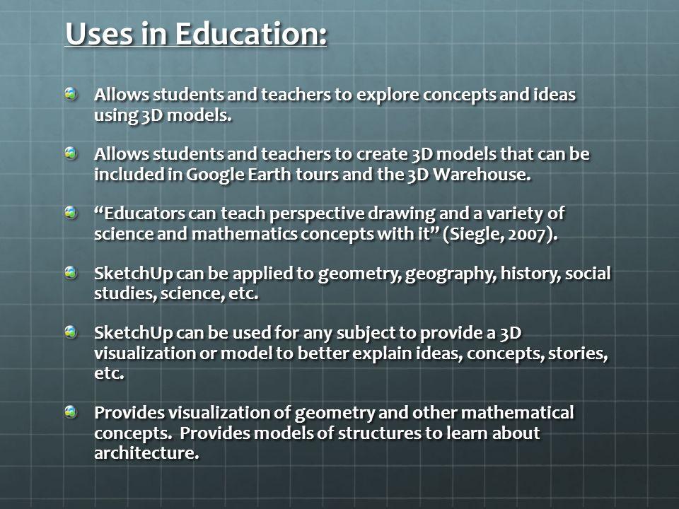 Google SketchUp By: Tynan Green  What is Google SketchUp? A