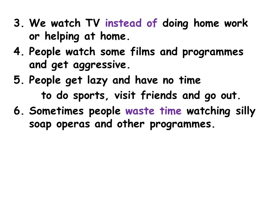 advantages and disadvantages of soap operas