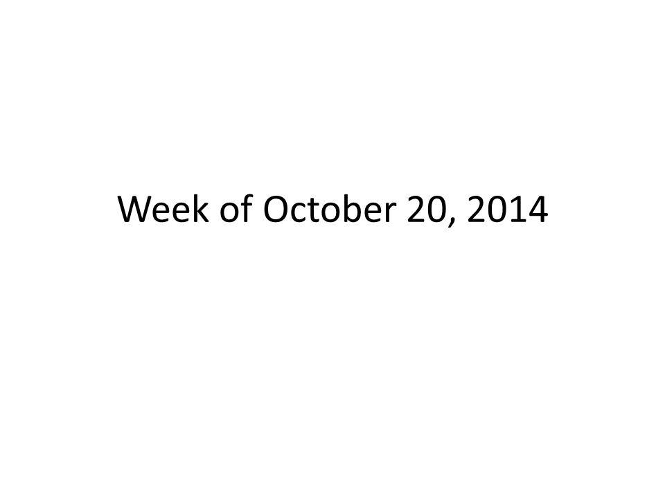 Week Of October 20 Agenda Bell Ringer In A T Chart List 3 Metals