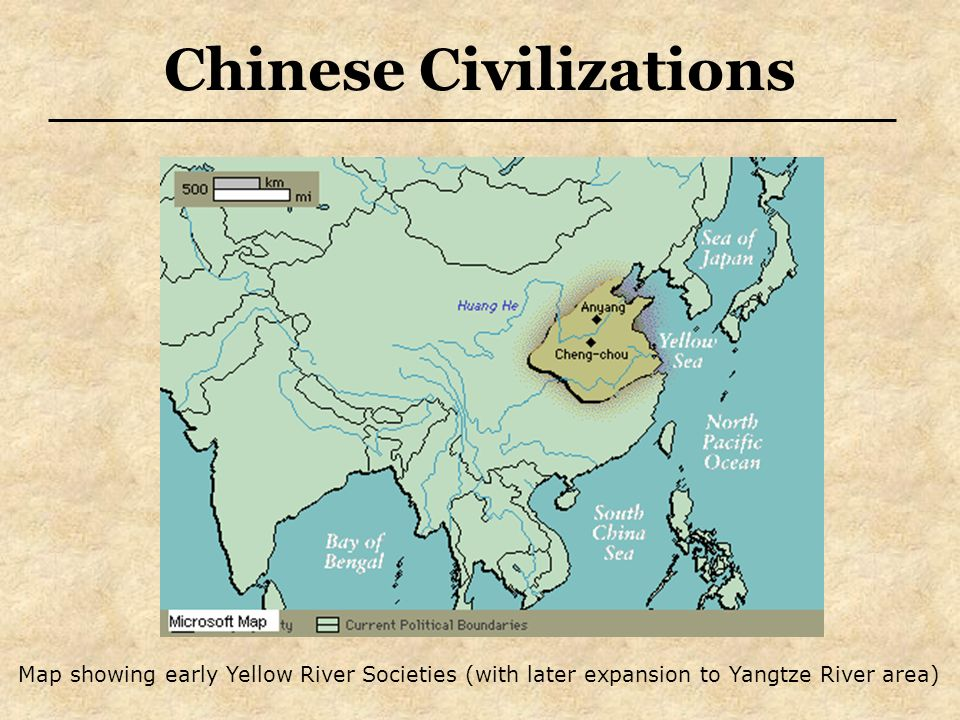 Map Of China Yellow River.China Creativity Continues To Flow Chinese Civilizations Map