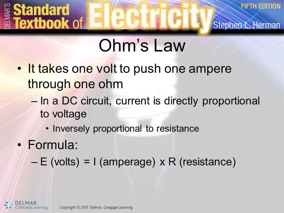 Unit 2 Electrical Quantities and Ohm\'s Law. Preview Electricity ...
