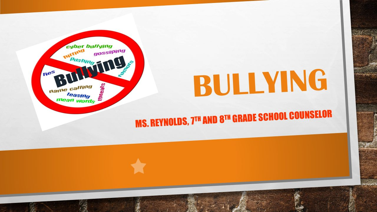 school counselor role in bullying