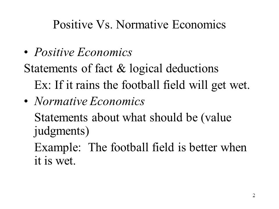 what is positive economics what Economic growth is one of the most important indicators of a healthy economy one of the biggest impacts of long-term growth of a country is that it has a positive impact on national income and the level of employment, which increases the standard of livingas the country's gdp is increasing, it is more productive which leads to more people being employed.