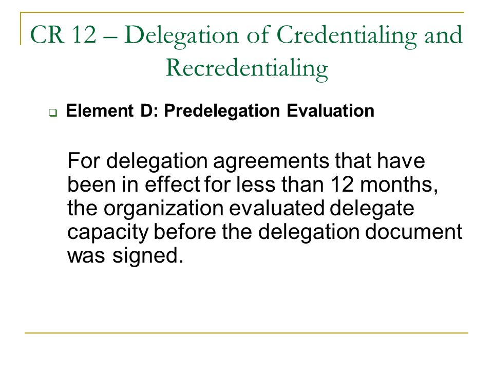 Ncqa Standards Update Delegated Credentialing Tips Nysamss Annual