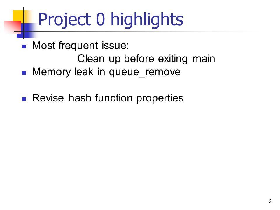 1 CSE 451 Section 3: Project0 highlights, File descriptors