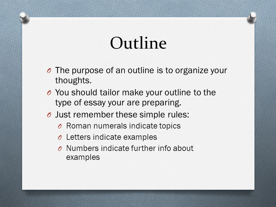 how to organize the body of an essay