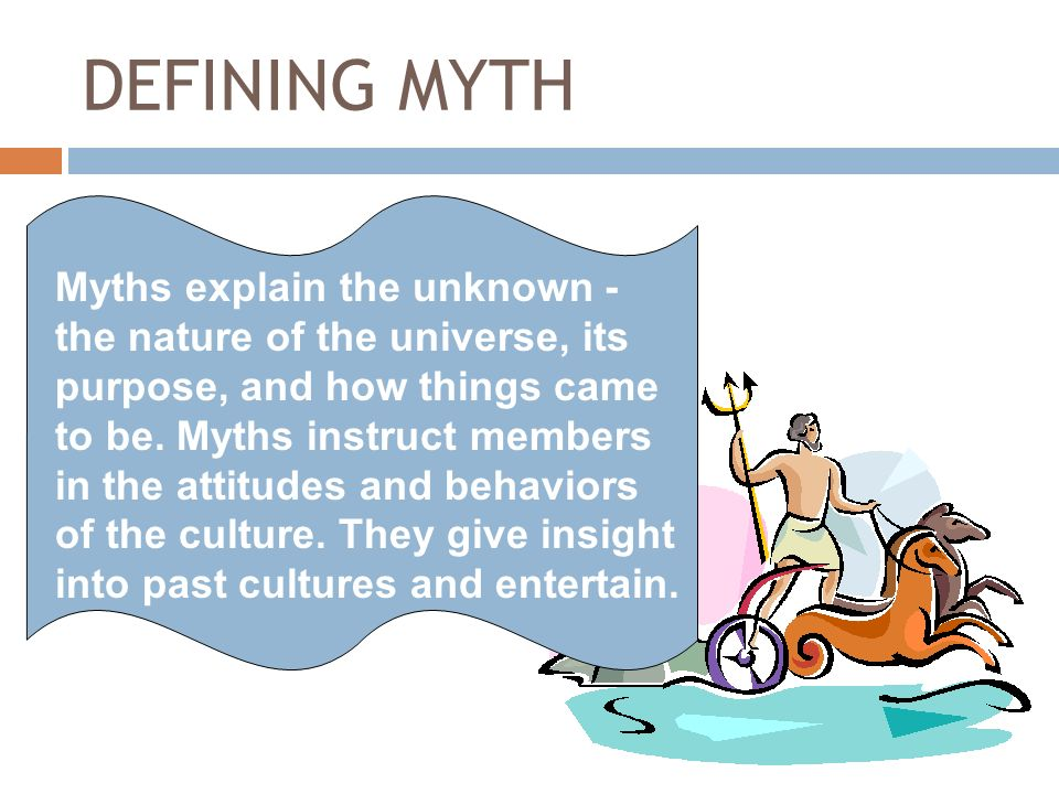 So Whats A Myth Defining Myth And Mythic Heroes Ppt Download