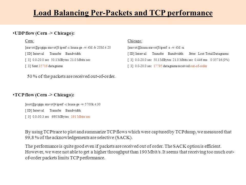Scavenger performance Cern External Network Division - Caltech