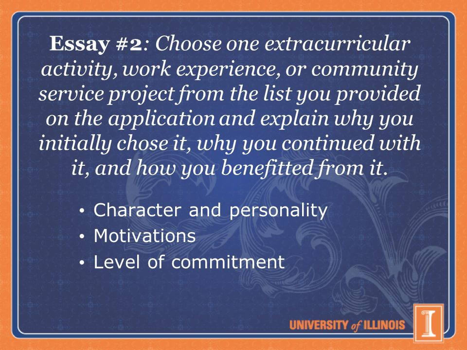 College Admission Essays  Role of the Essay Holistic review