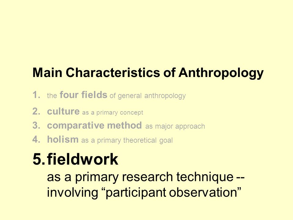 what is the primary purpose of participant observation