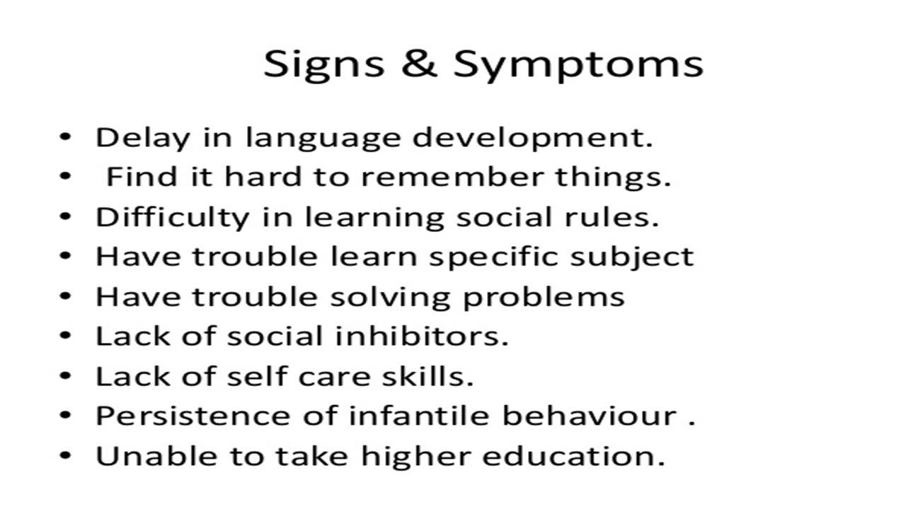 intellectual disabilities mental retardation martha k 8/may/ ppt
