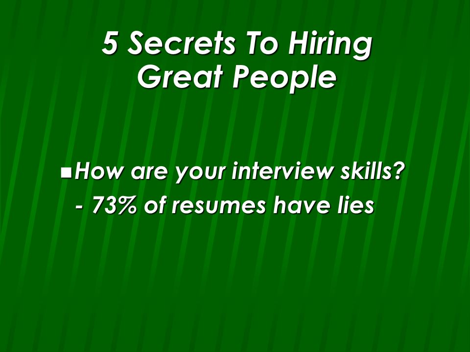 How to Hire, Recruit and Retain Great People Kerry Johnson, MBA, Ph ...