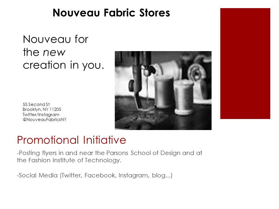 Fabric Store Entrepreneurship Plan Melissa Cherniss Textiles