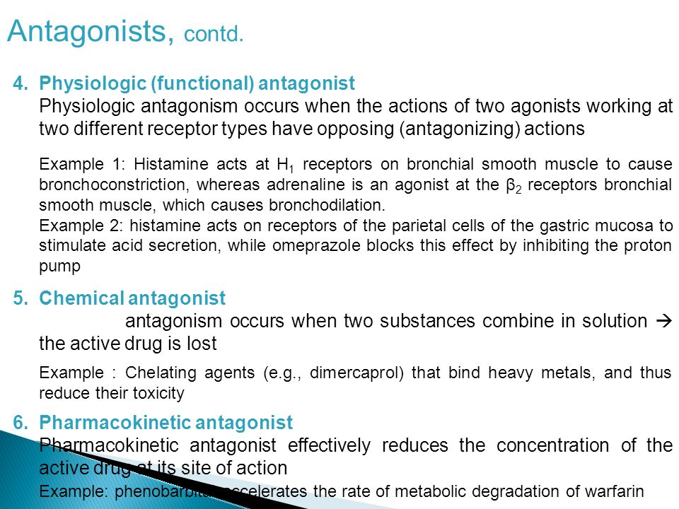 Types Of Antagonists Antagonists Overview Definition An