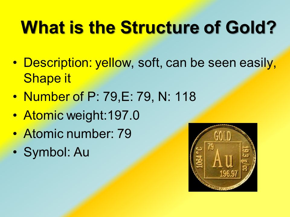 What Is Gold By Becca Riesenberger What Are Elements Definition