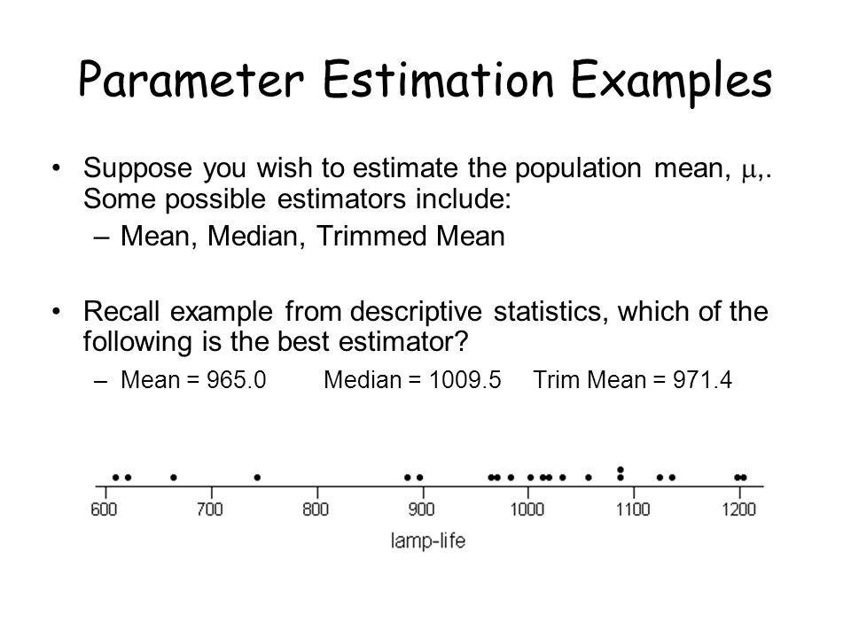 1 Lecture 16 Point Estimation Concepts and Methods Devore, Ch ppt