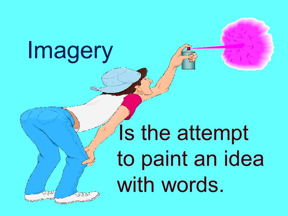 What Is Imagery In Poetry Imagery Is The Attempt To Paint An Idea