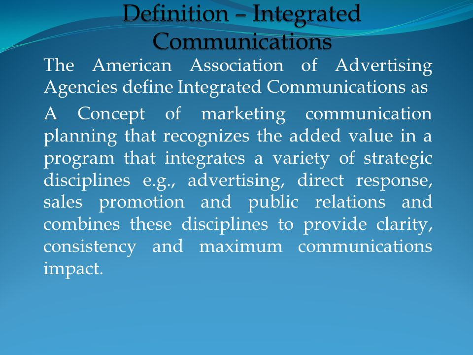 Definition Of Direct Marketing Direct Marketing is the