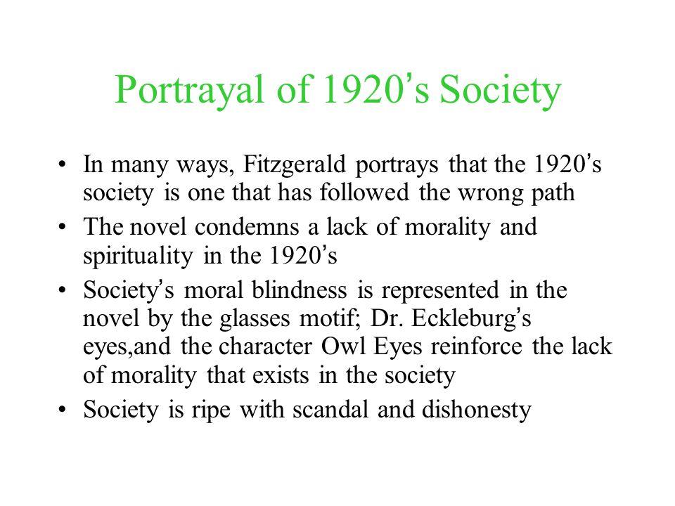 lack of morality in society