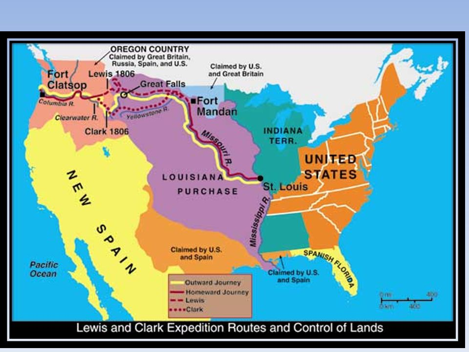 The exploration of the louisiana purchase by lewis and clark