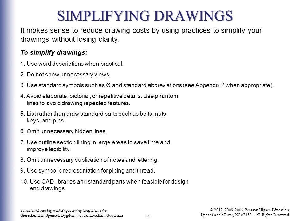 C H A P T E R T H I R T E E N Working Drawings 2 Technical Drawing