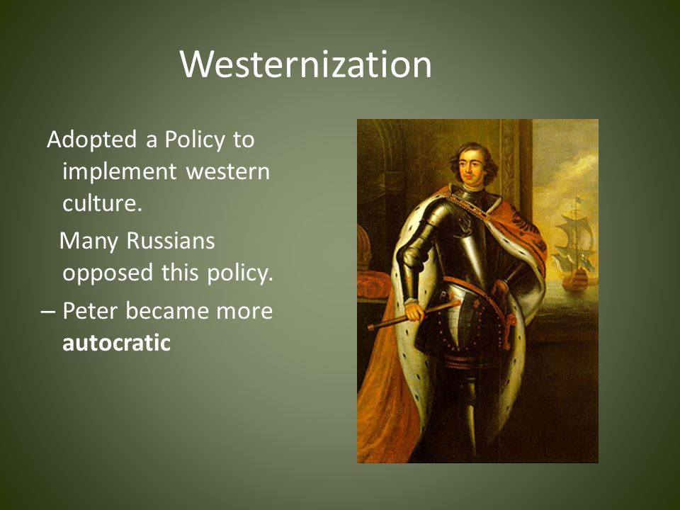 western culture and policies that have International studies - western culture and policies that have shaped the modern world.