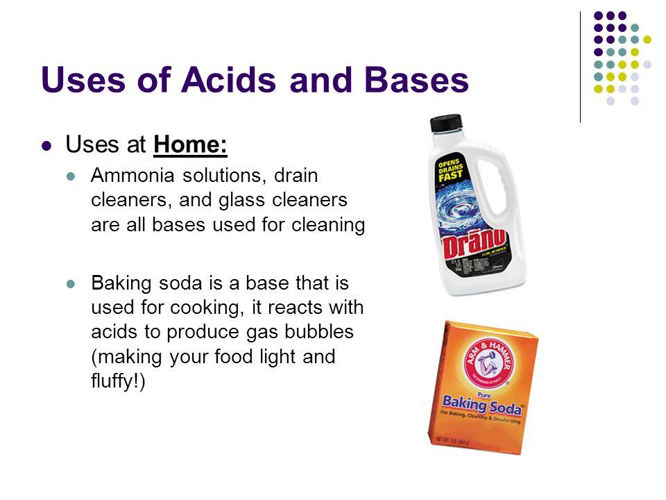 Describing Acids And Bases Properties Of Acids In Order To