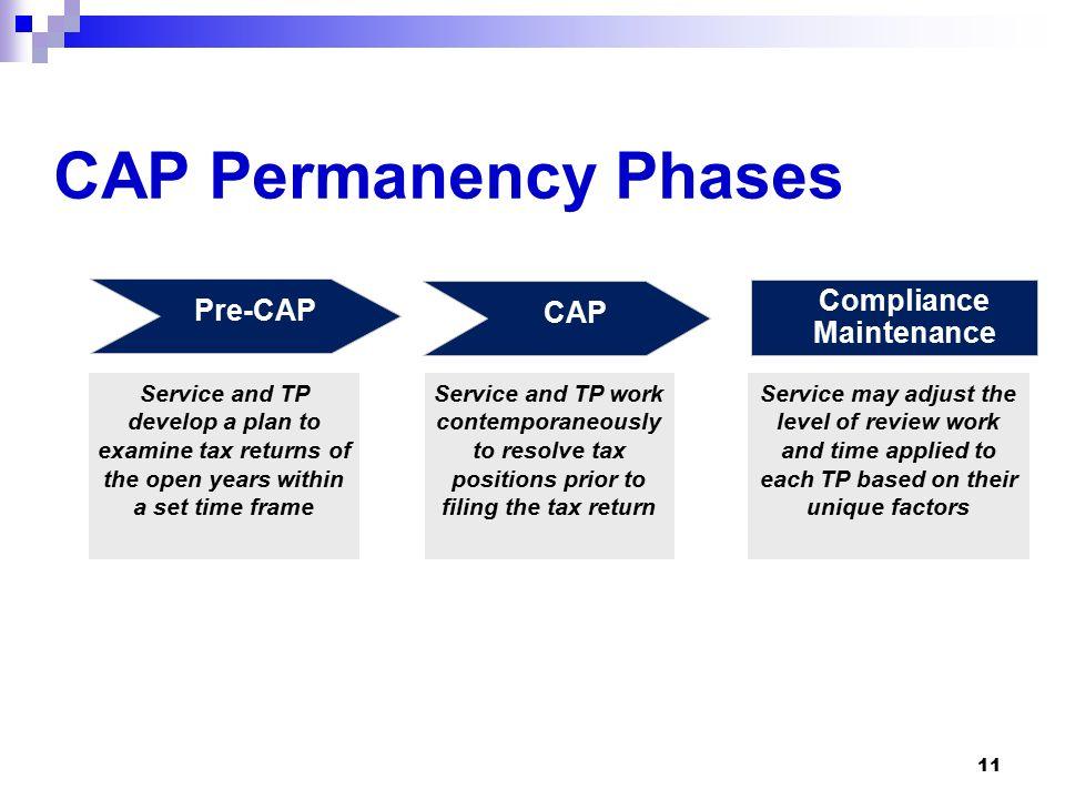 1 CAP Compliance Assurance Process (CAP) Permanency. - ppt download