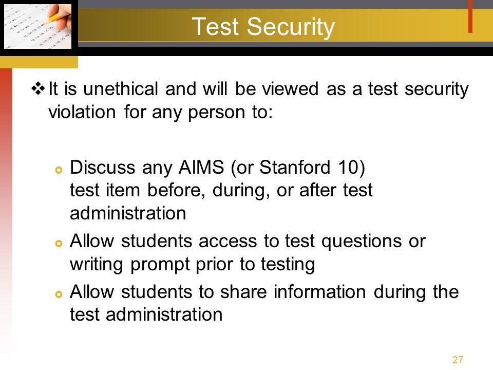 aims pre test training spring agenda test training packet rh slideplayer com 2nd Grade Stanford 10 Test 2nd Grade Stanford 10 Test
