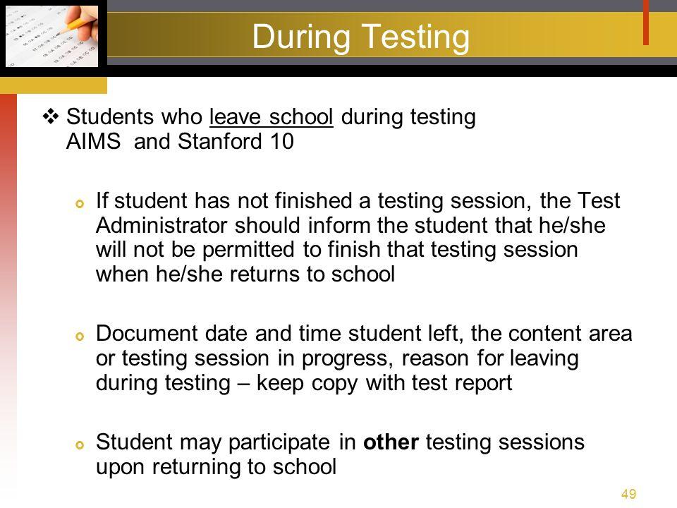 aims pre test training spring agenda test training packet rh slideplayer com 3rd Grade Stanford 10 Test Stanford 10 Test Practice