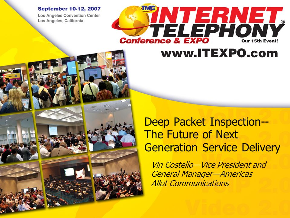 Deep Packet Inspection-- The Future of Next Generation