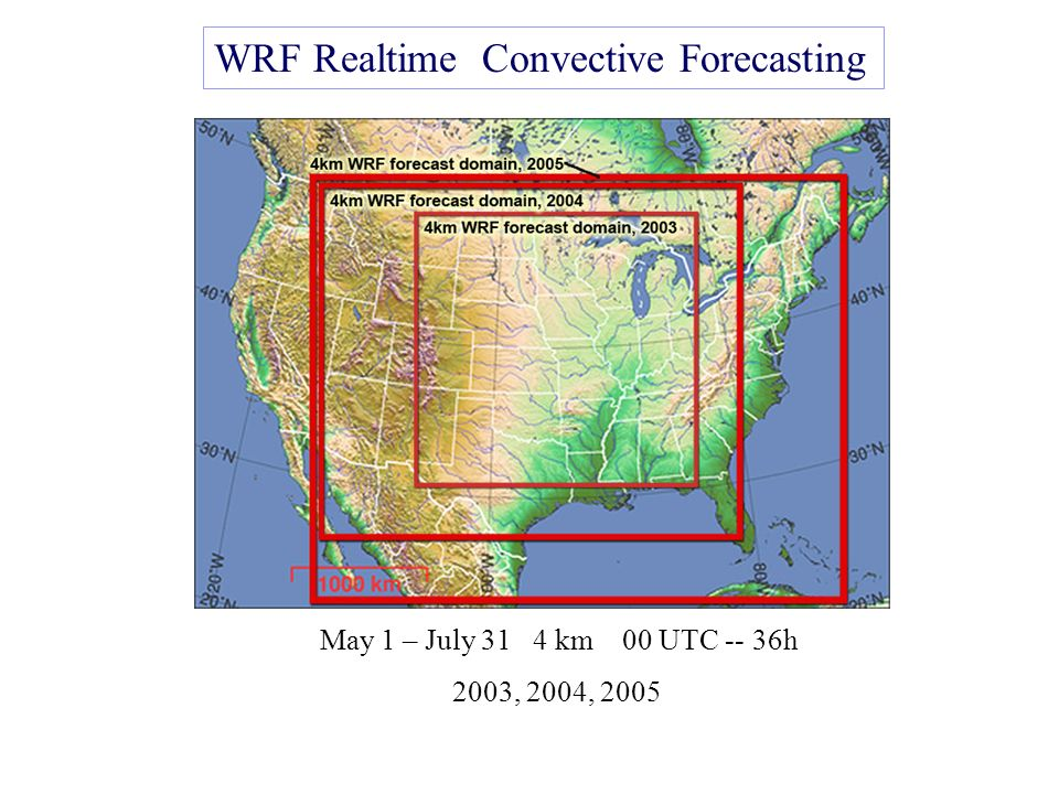 Experiences with 0-36 h Explicit Convective Forecasting with